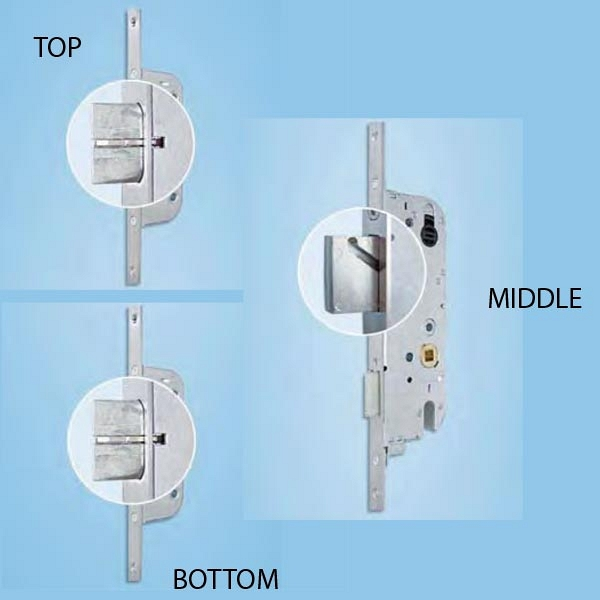 Automatic Multipoint Door Lock  854-15710 1