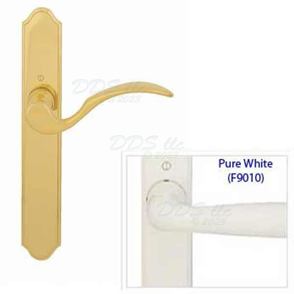 Hoppe White Hoppe Swing Door Handle 8763187 850 8763187