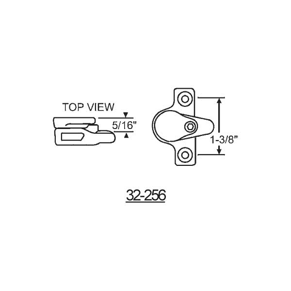 Custodial - Vent Lock 32-256 1