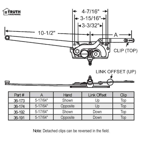 Sill Mounted Casement Operators 1