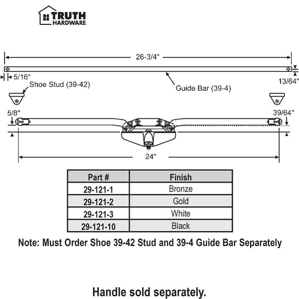 Truth Awning Operator 29-121-3 1