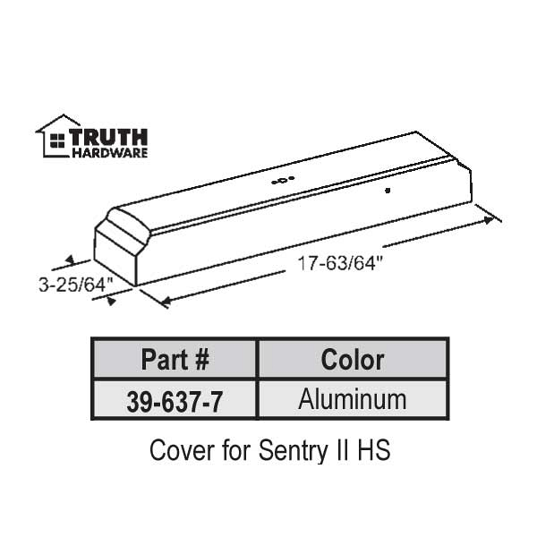 Cover for Sentry II 39-637-7 1