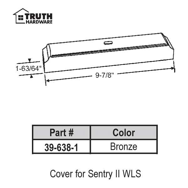 Cover for Sentry II 39-638-1 1