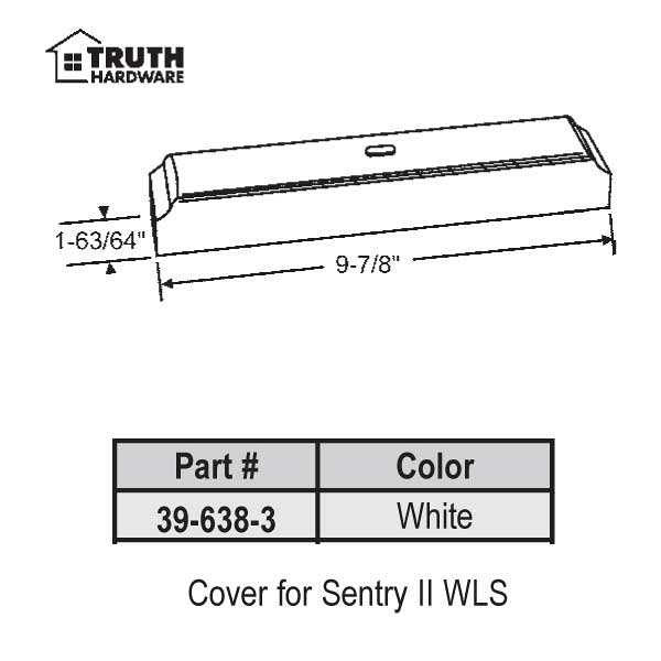 Cover for Sentry II 39-638-3 1