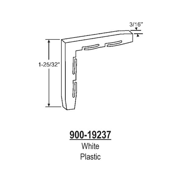 Internal Plastic Corner 900-19237 1