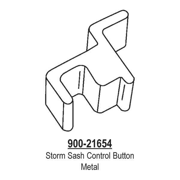 Storm Sash Control Button  900-21654 1