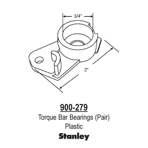 Torque Bar Bearings Pr 900-279 1