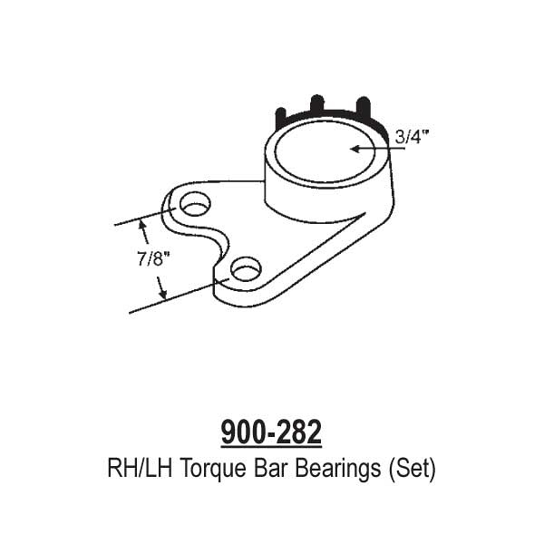 Torque Bar Bearing Set 900-282 1