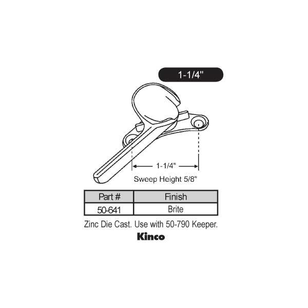 Krestmark Windows Reviews >> Kinco - - Sweep and Sash locks - 50-641