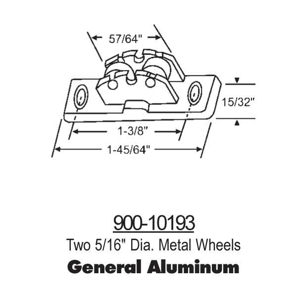 General Aluminum Window Door Parts