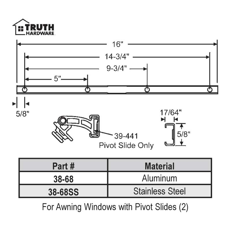 Casement Window Steel Casement Window Parts