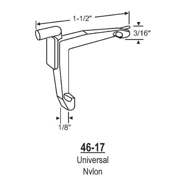 Strybuc Tilt Corner Key Plastic 900 15773